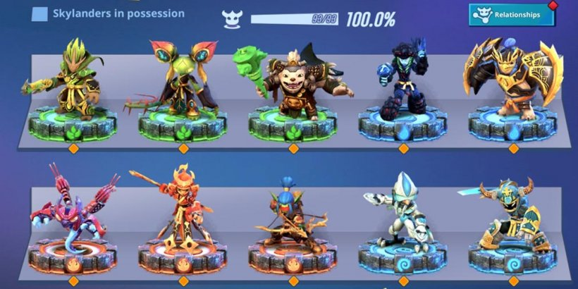 Skylanders Ring of Heroes introduces Relationships system and Shadow King Pen in content update