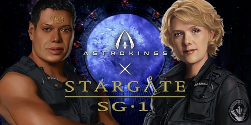 Astrokings partners up with the Stargate universe in new crossover content