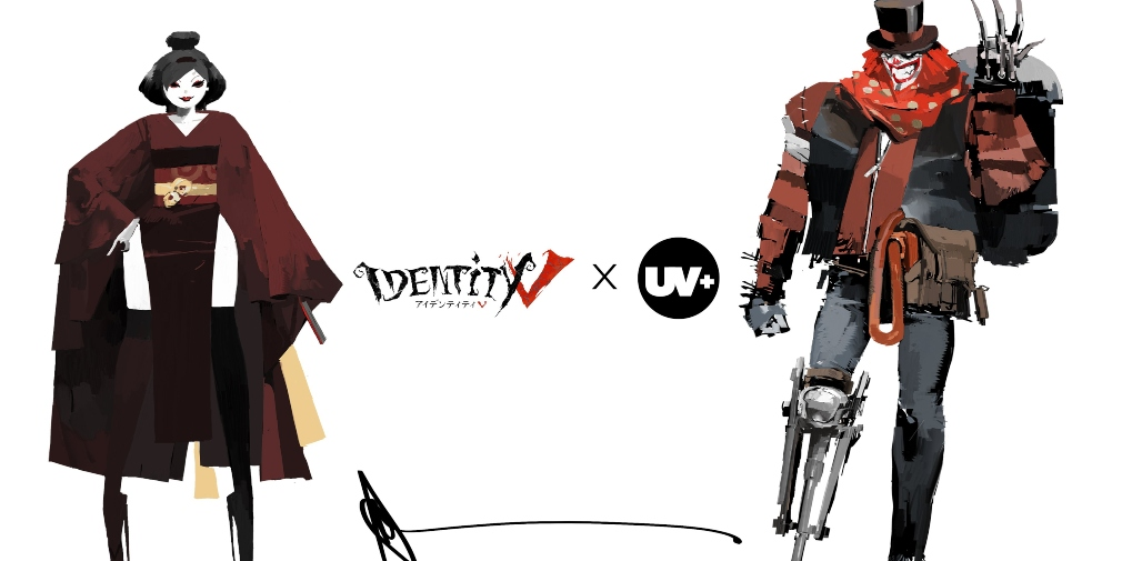 Identity V has teamed up with UNDERVERSE to create collectable figures of Joker and Geisha