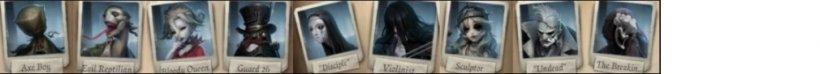 Identity V hunter characters