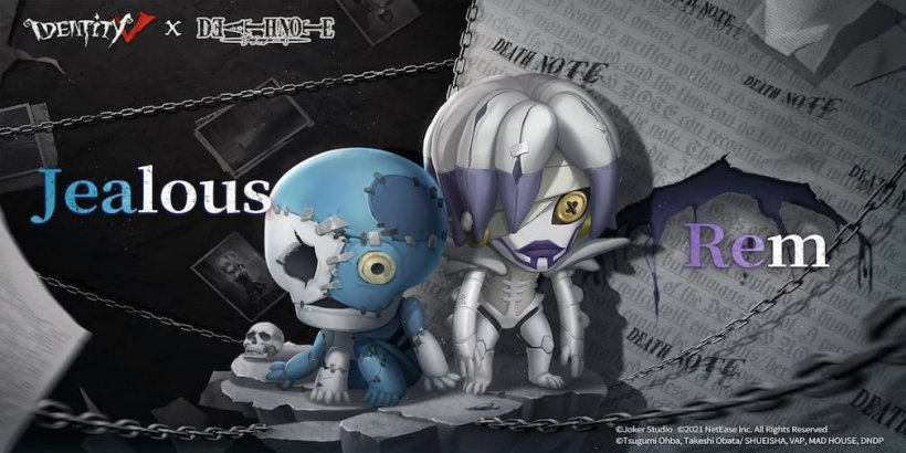 Identity V's collaboration with hit Japanese manga, Death Note, is underway now