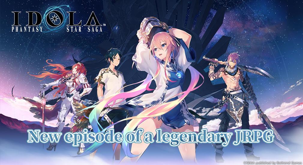 Five reasons to play Idola: Phantasy Star Saga, free on iOS and Android
