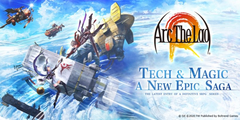 Arc the Lad R will be released globally for iOS and Android after launching in Japan two years ago