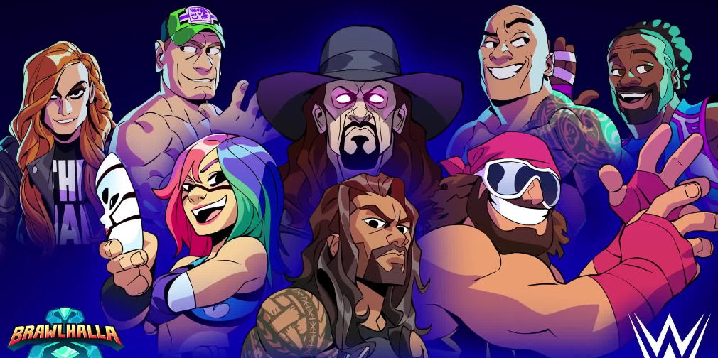 "Brawlhalla adds WWE's Undertaker, Roman Reigns, ""Macho Man"" Randy Savage, and more"