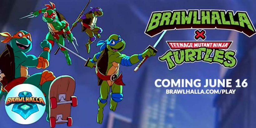 Brawlhalla announces Teenage Mutant Ninja Turtles crossover event for June 16th