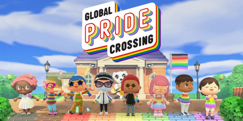 Global Pride Crossing is an international Pride festival set to take place within Animal Crossing: New Horizons