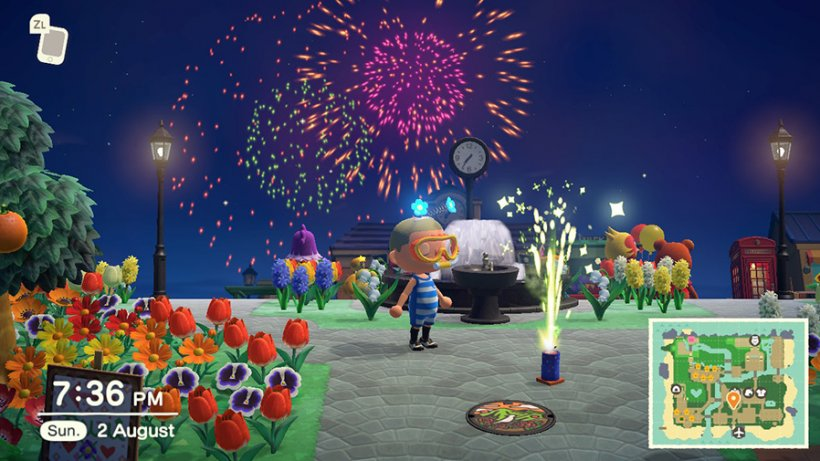 How to celebrate the Fireworks Festival in Animal Crossing: New Horizons