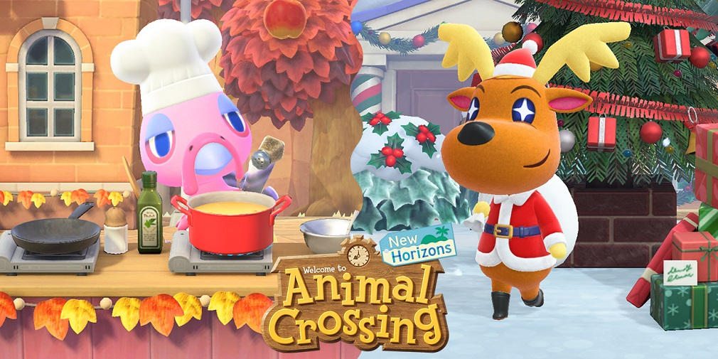 Next update for Animal Crossing: New Horizons adds two holidays, save data transfer, sitting, and more