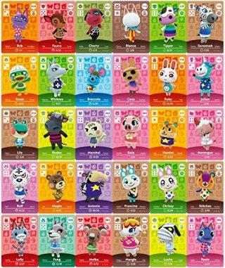 Amibo cards New Horizons