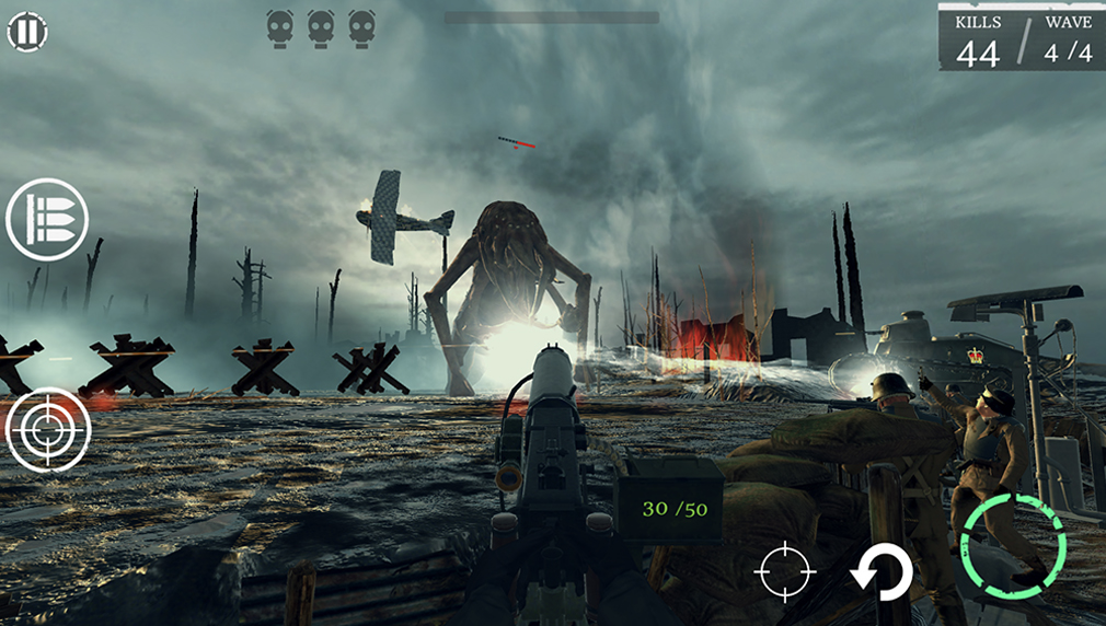 Lovecraftian shooter Z War 1: The Great War of the Dead announces Kickstarter campaign