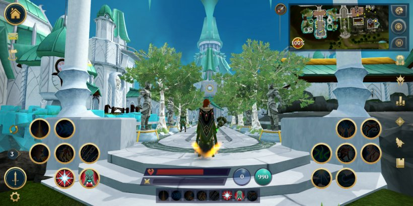 RuneScape Mobile: Lead Designer David Osborne & Product Director Jason Millena discuss porting to mobile, adding Archaeology and The Ranch Out of Time