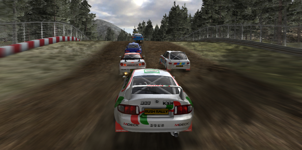 Rush Rally 3 gets enhanced visuals and a classic car expansion pack