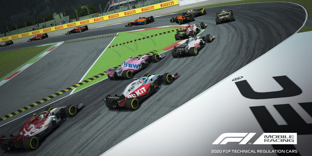 F1 Mobile Racing is set to receive a 2020 Season update in May bringing the latest cars, drivers, circuits and more