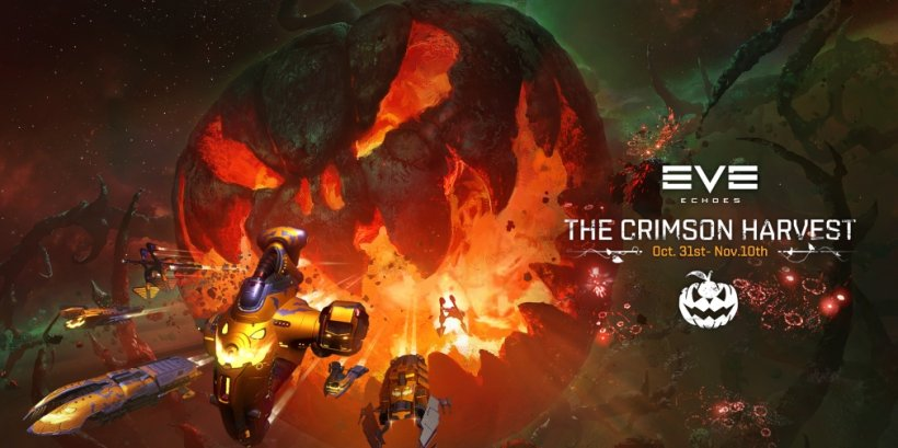 EVE Echoes' Crimson Harvest event is underway now, introducing new skins and Modules