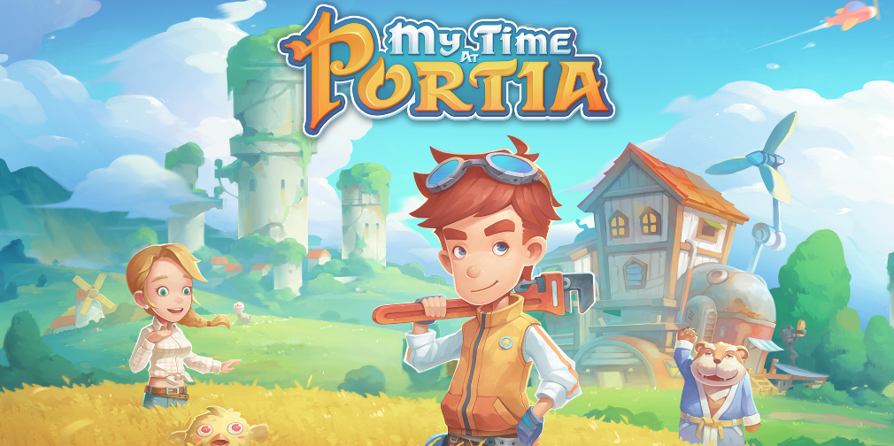 My Time at Portia, le mélange d'Harvest Moon et d'Animal Crossing, arrive prochainement sur vos mobiles