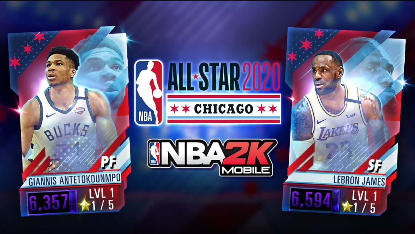 NBA 2K Mobile: New All-Star Weekend Update Available