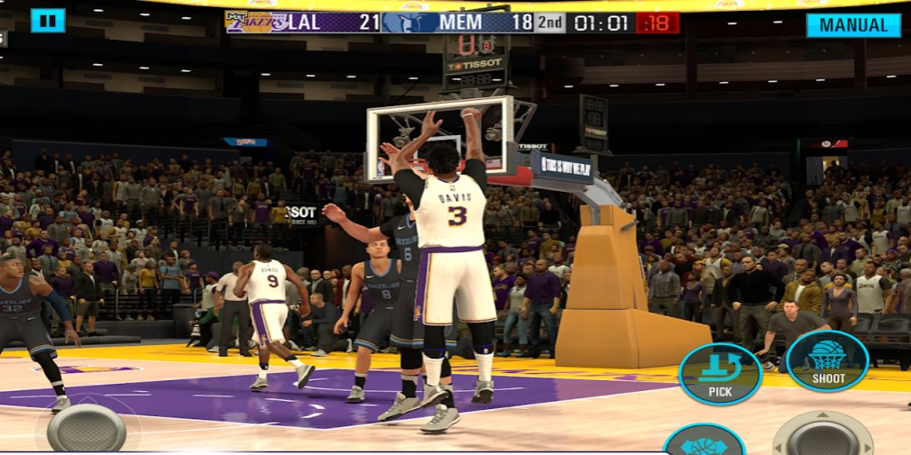 NBA 2K Mobile's Rainmakers theme launching March 11th