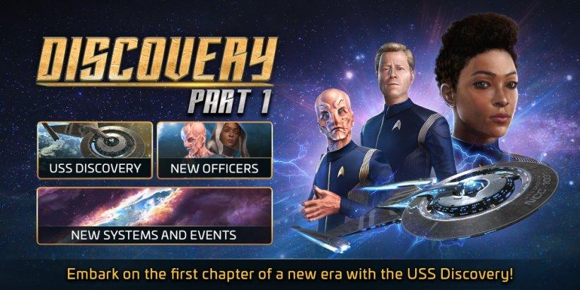 Star Trek: Fleet Command's latest update introduces a new Battle Pass featuring Star Trek: Discovery content