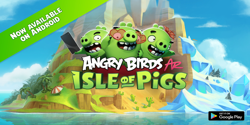 Angry Birds AR: Isle of Pigs is available now for Android following its iOS release earlier this year