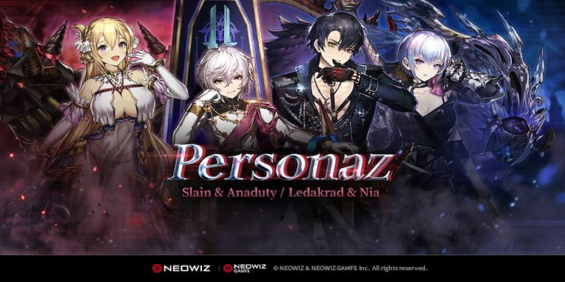 Brave Nine adds a new legendary mercenary group called Personaz in its latest content update