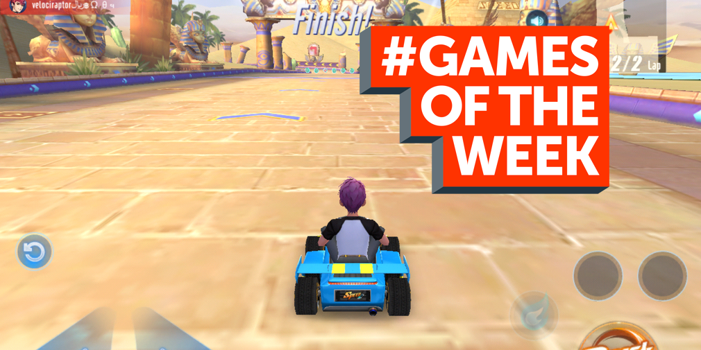 GAMES OF THE WEEK - The 5 best new games for iOS and Android - July 25th
