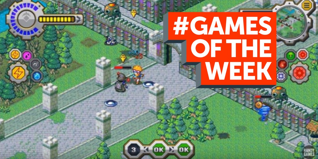 GAMES OF THE WEEK - The 5 best new games for iOS and Android - September 26th