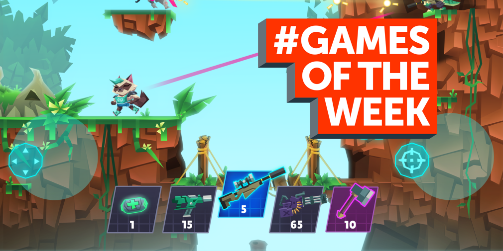 GAMES OF THE WEEK - The 5 best new games for iOS and Android - March 12th