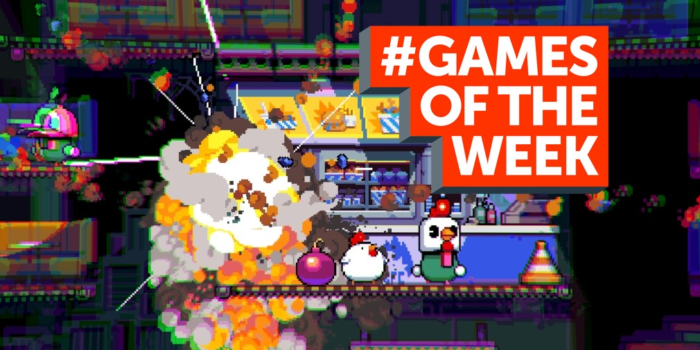 GAMES OF THE WEEK - The 5 best new games for iOS and Android - April 2nd