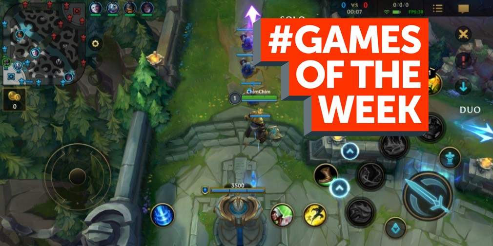 GAMES OF THE WEEK - The 5 best new mobile games for iOS and Android - December 10th 2020