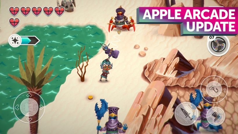 Apple Arcade's latest batch of updates includes Sneaky Sasquatch, Legend of the Skyfish 2, Skate City and more