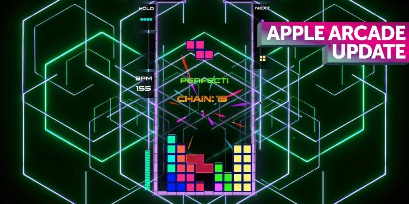 Apple Arcade weekly update: Tetris Beat, Monster Hunter Stories, Agent Intercept and more