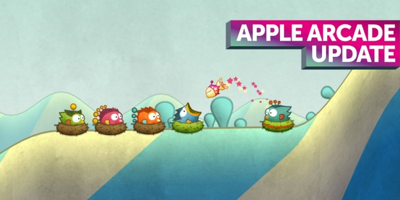 Apple Arcade weekly update: NBA 2K22 Arcade Edition, Tiny Wings, Castlevania: Grimoire of Souls and more