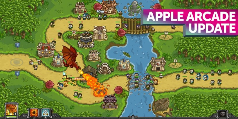 Apple Arcade weekly update: NBA 2K22 Arcade Edition, Tiny Wings and Kingdom Rush Frontiers TD