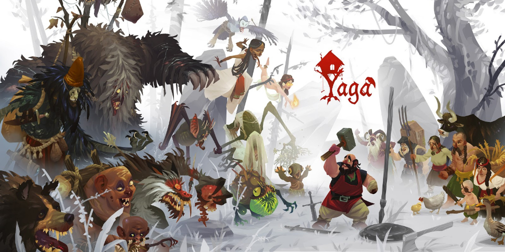 Apple Arcade action RPG Yaga's latest trailer shows off the nightmarish scarecrow Kikimora