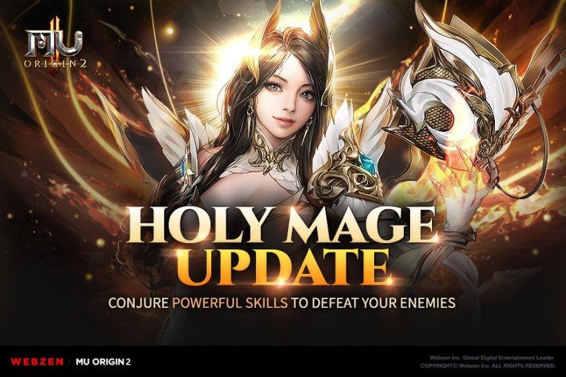 MU Origin 2, Webzen's hit MMORPG, gets a new character class plus a ton of fresh features