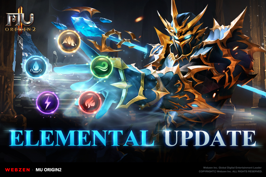 MU Origin 2's latest update adds Elemental Properties, Guardian Pet Awakening and more