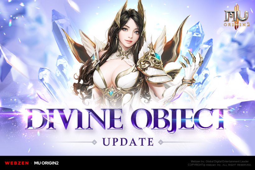 MU Origin 2's Divine Object update introduces Elemental Stigma, Holy Shield Awakening and more