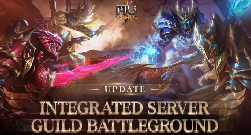 MU Origin 2's latest update adds Integrated Server Guild Battleground to the hit MMORPG