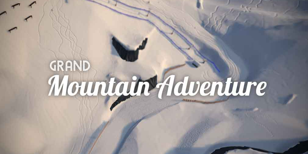 Grand Mountain Adventure, Toppluva's acclaimed open-world skiing and snowboarding game, hits iOS