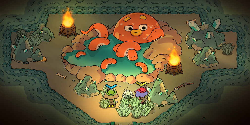 The Swords of Ditto will be the latest Devolver Digital game to make its way to iOS later this month