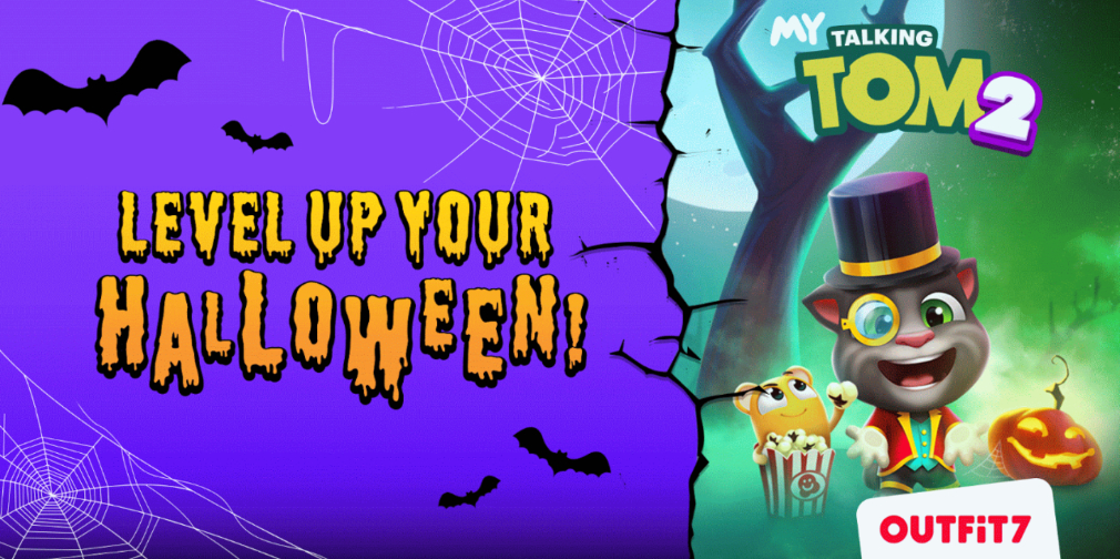 Talking Tom and Friends games celebrate Halloween with some spooktacular updates