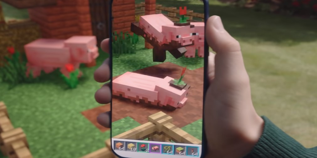 Minecraft Earth's latest update adds three new mobs and extra hidden chests