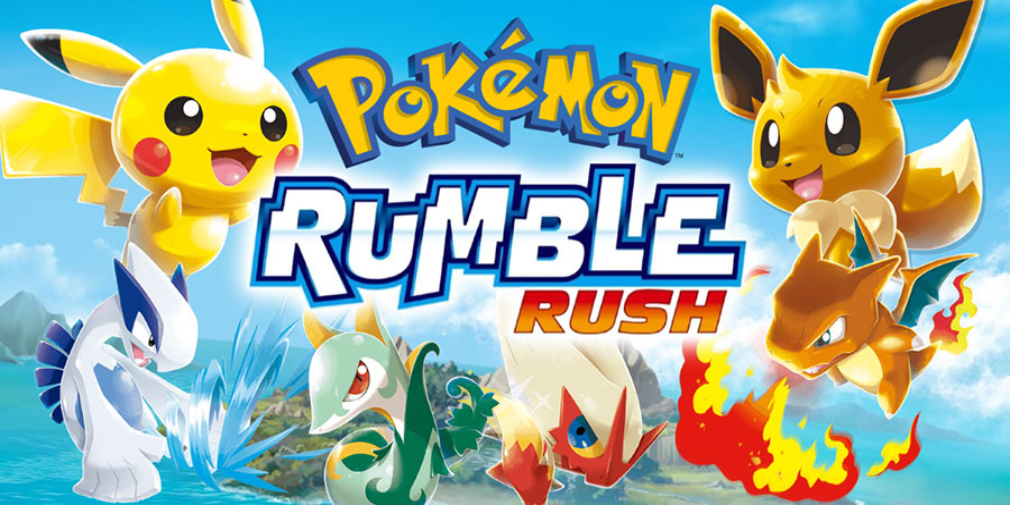 Button-mashing brawler Pokemon Rumble Rush makes its way to iOS
