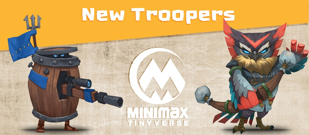 Game-changing update for MINImax Tinyverse adds two new troopers