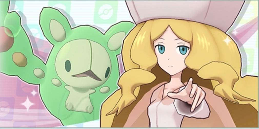 Caitlin and Reuniclus are available now in Pokemon Masters