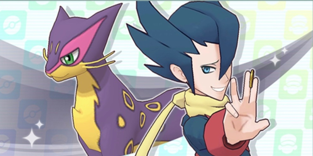 Grimsley and Liepard are available to scout in Pokemon Masters today and the Legendary Log-In event has also started