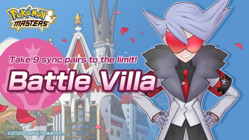 What is the Battle Villa? Everything you need to know about Pokemon Masters' latest singleplayer mode