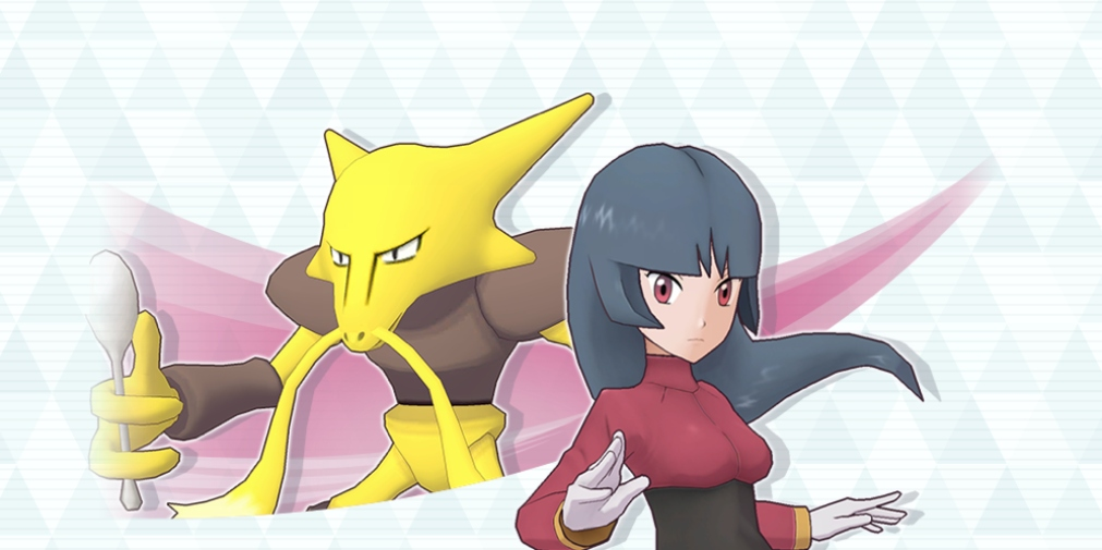 Pokemon Masters' latest update introduces Sabrina & Alakazam, a Ghost-Type Training Event and more