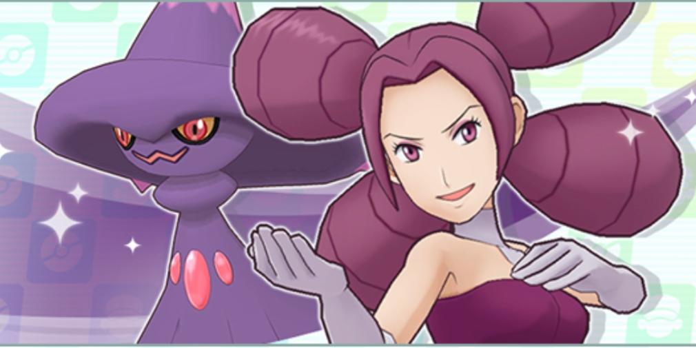 Pokemon Masters' latest Sync Pair to arrive on Pasio is Fantina & Mismagius