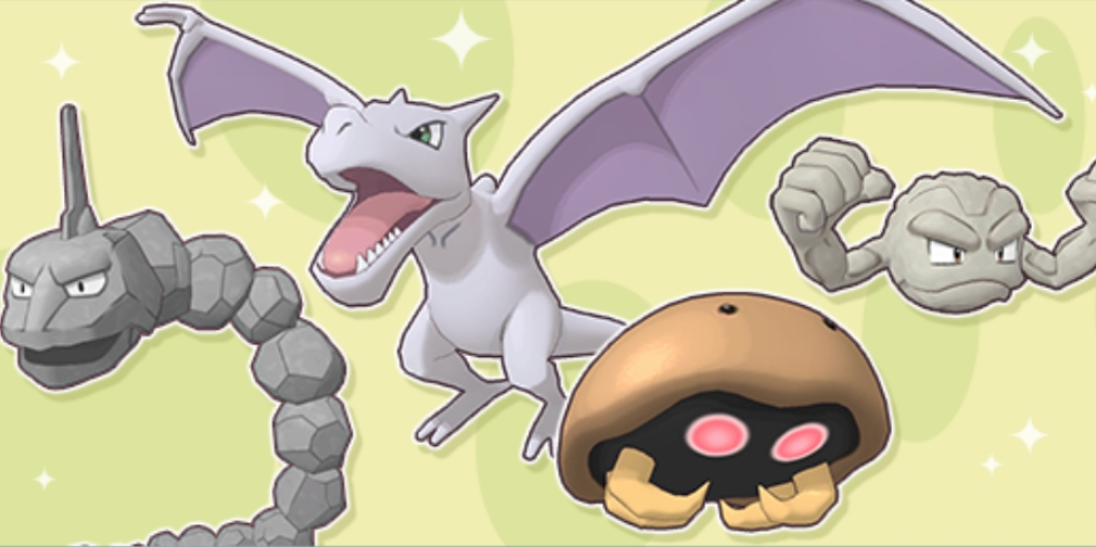 Pokemon Masters' Rock-Type Egg Event is now underway, with Aerodactyl, Kabuto, Onix and Geodude all obtainable